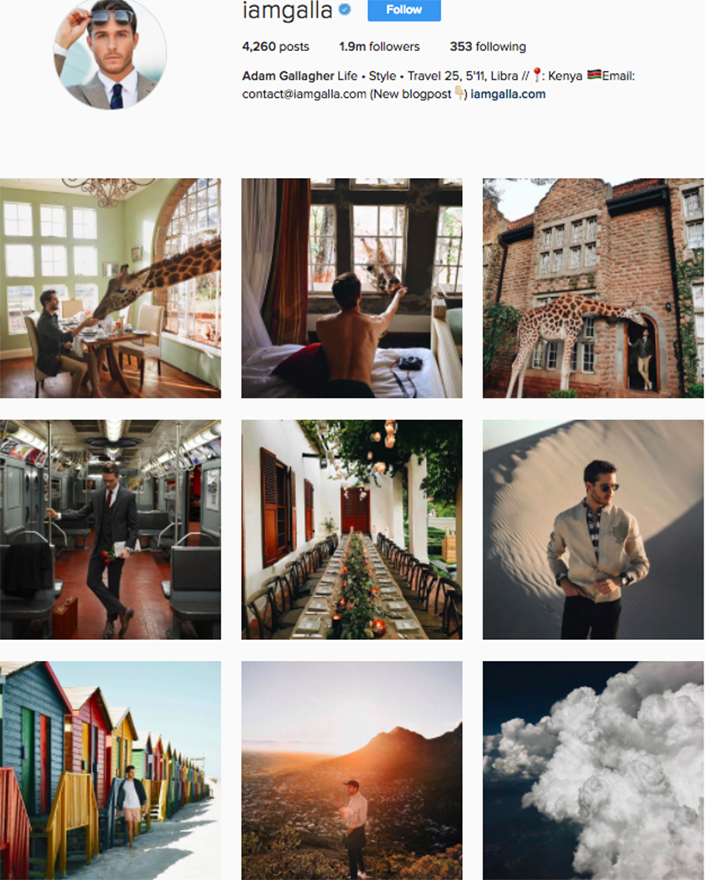 best menswear style bloggers Instagram influencers iamgalla
