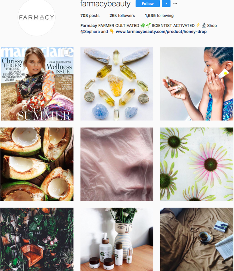 farmacy beauty beauty brands makeup brands list instagram beauty brands to follow on instagram