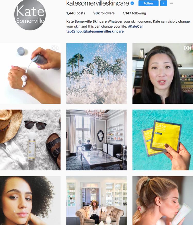 kate sommerville beauty brands makeup brands list instagram beauty brands to follow on instagram
