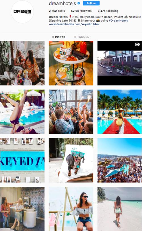 travel instagram, instagram accounts to follow, dreamhotels