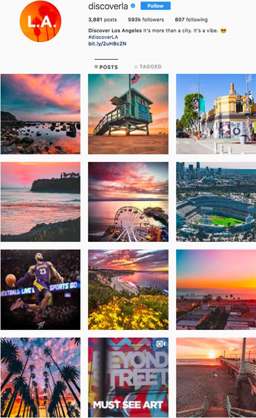 travel instagram, instagram accounts to follow, discoverla