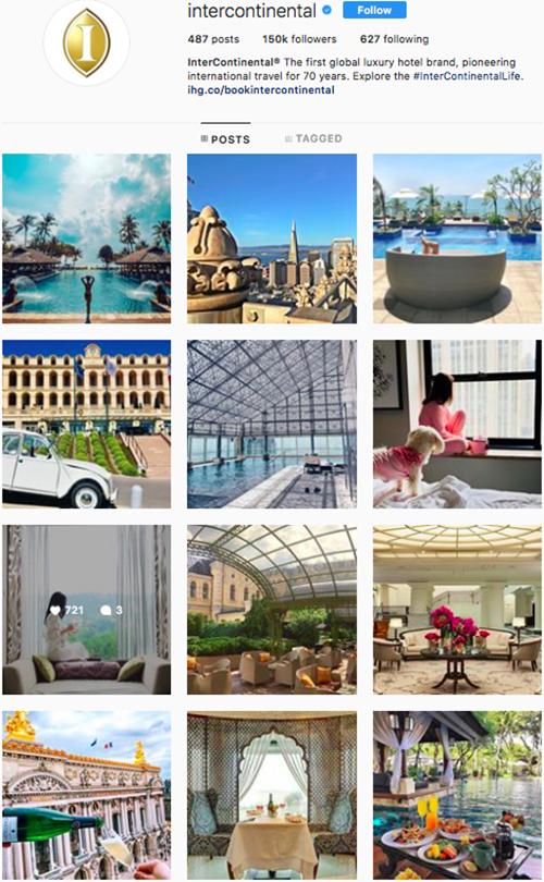 travel instagram, instagram accounts to follow, intercontinental