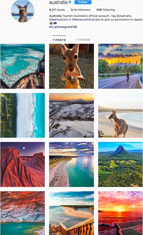 travel instagram, instagram accounts to follow, australia