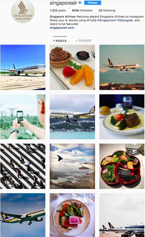 travel instagram, instagram accounts to follow, singapore air