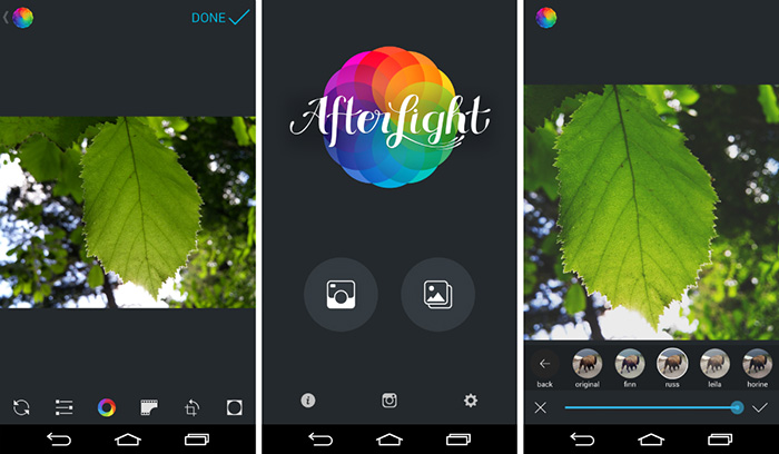 Afterlight's options run the gamut.