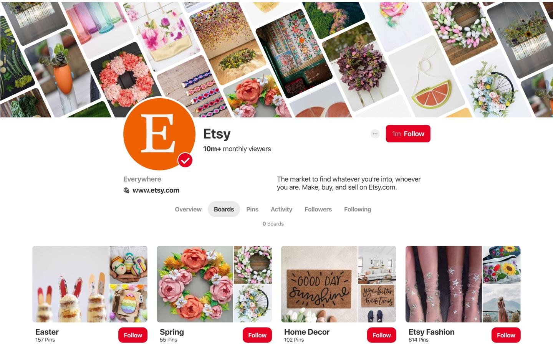 Etsy Pinterest Strategy