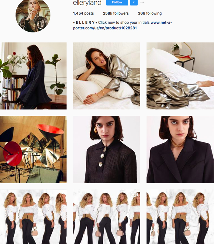 who to follow on instagram, australian clothing brands instagram, instagram marketing, best instagrams to follow, @elleryland