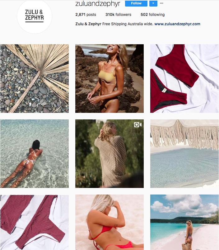 who to follow on instagram, australian clothing brands instagram, instagram marketing, best instagrams to follow, @staplethelabel