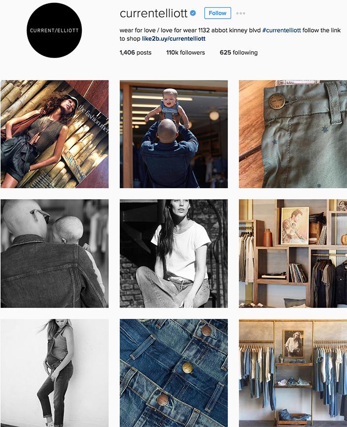 Current Elliott Instagram best denim accounts to follow