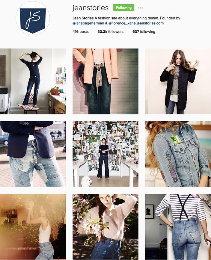 Jeans Stories Instagram