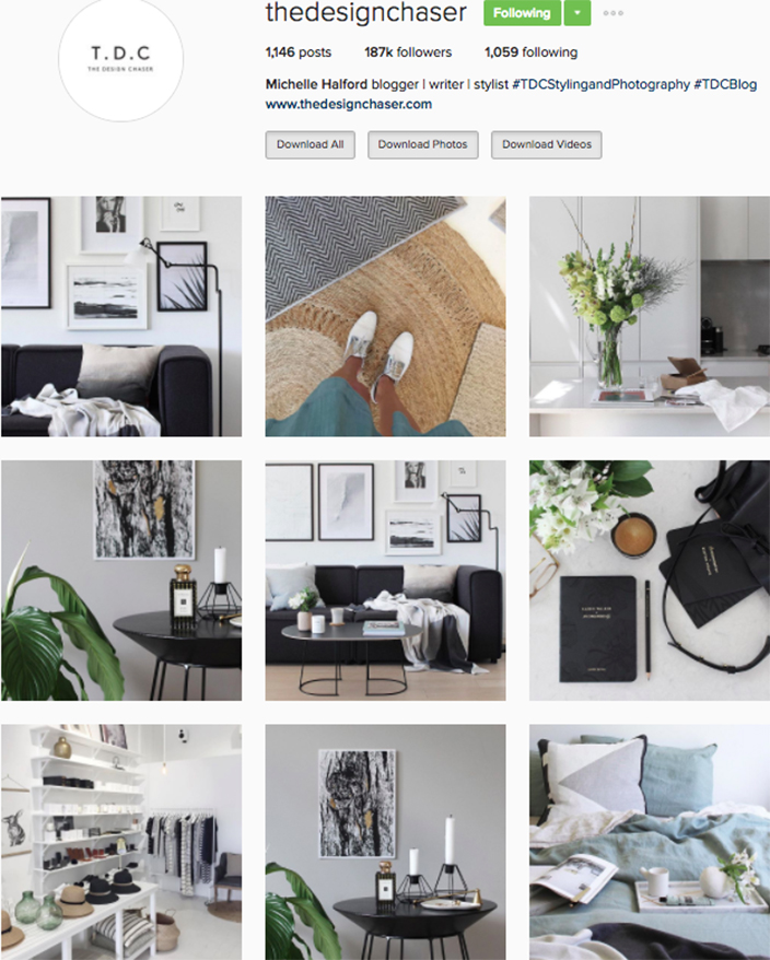 Best interior decor inspiration to follow on instagram @thedesignchaser