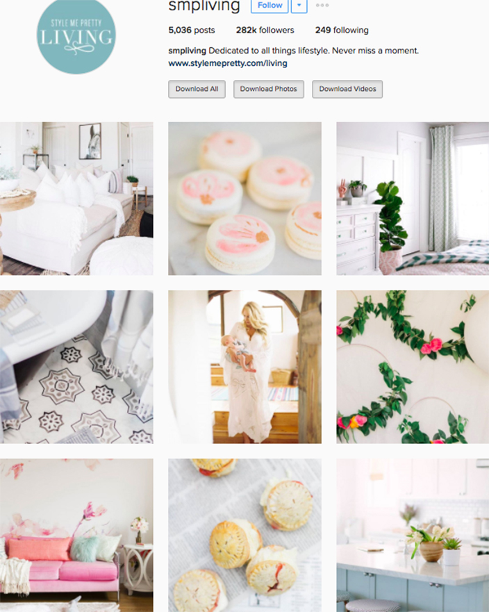 Best interior decor inspiration to follow on instagram @smpliving