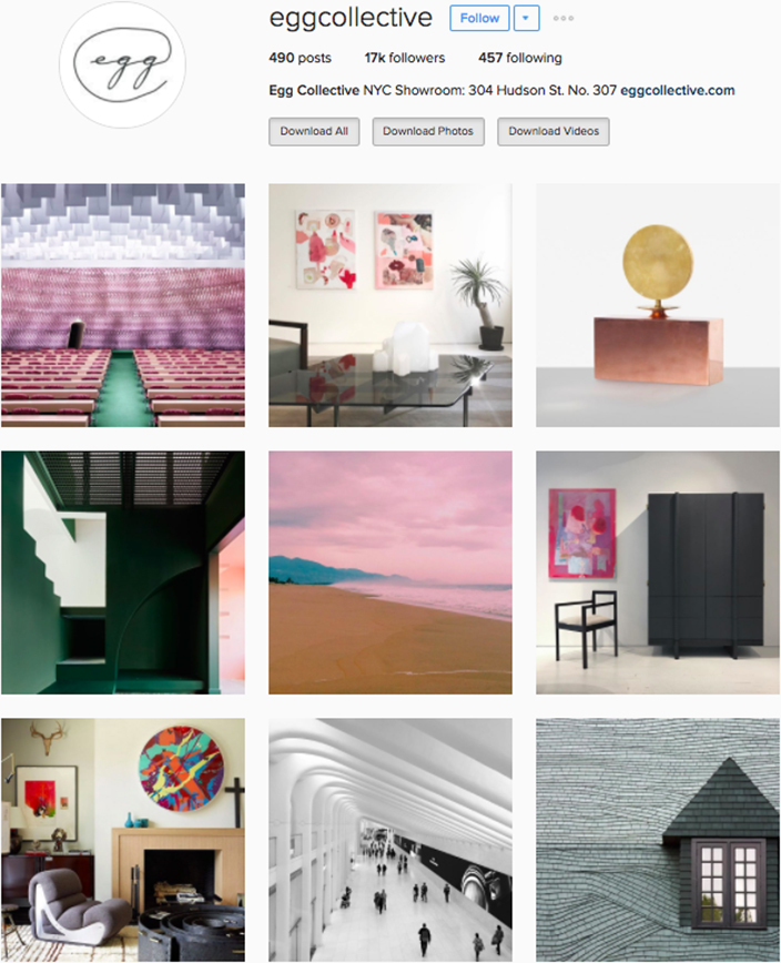 Best interior decor inspiration to follow on instagram @eggcollective