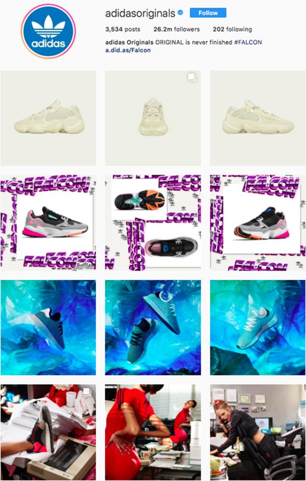 best shoe brands on instagram, adidas originals