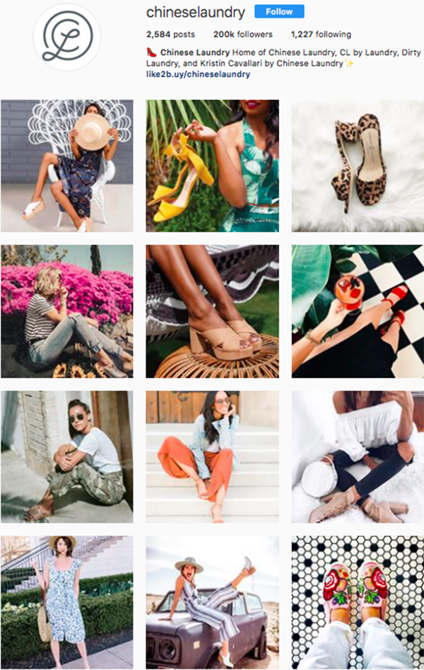 best shoe brands on instagram, chinese laundry
