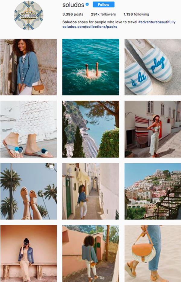 best shoe brands on instagram, soludos