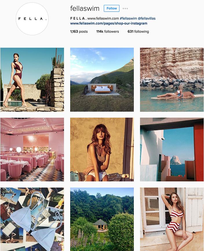 @fellaswim instagram best swimwear brands follow