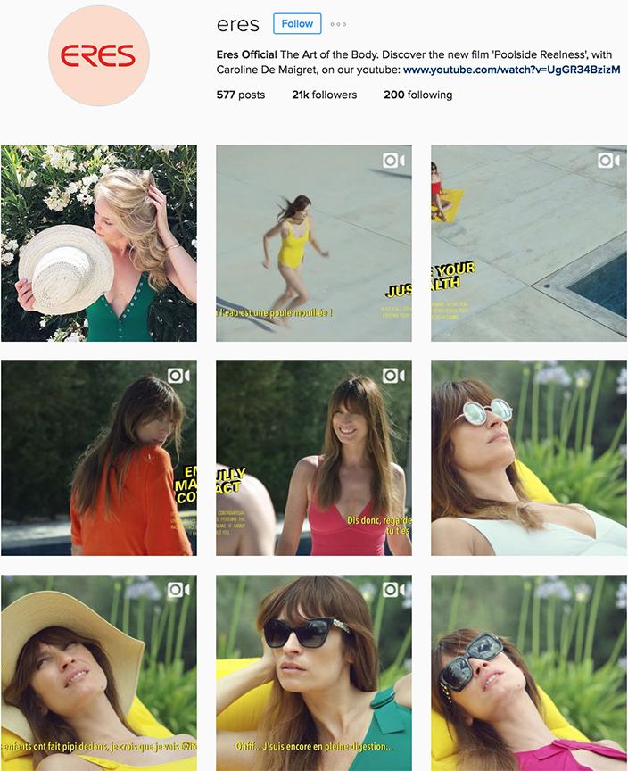 @eres instagram best swimwear brands follow