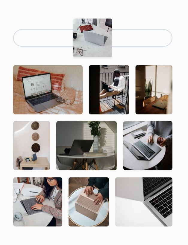Content library visual search