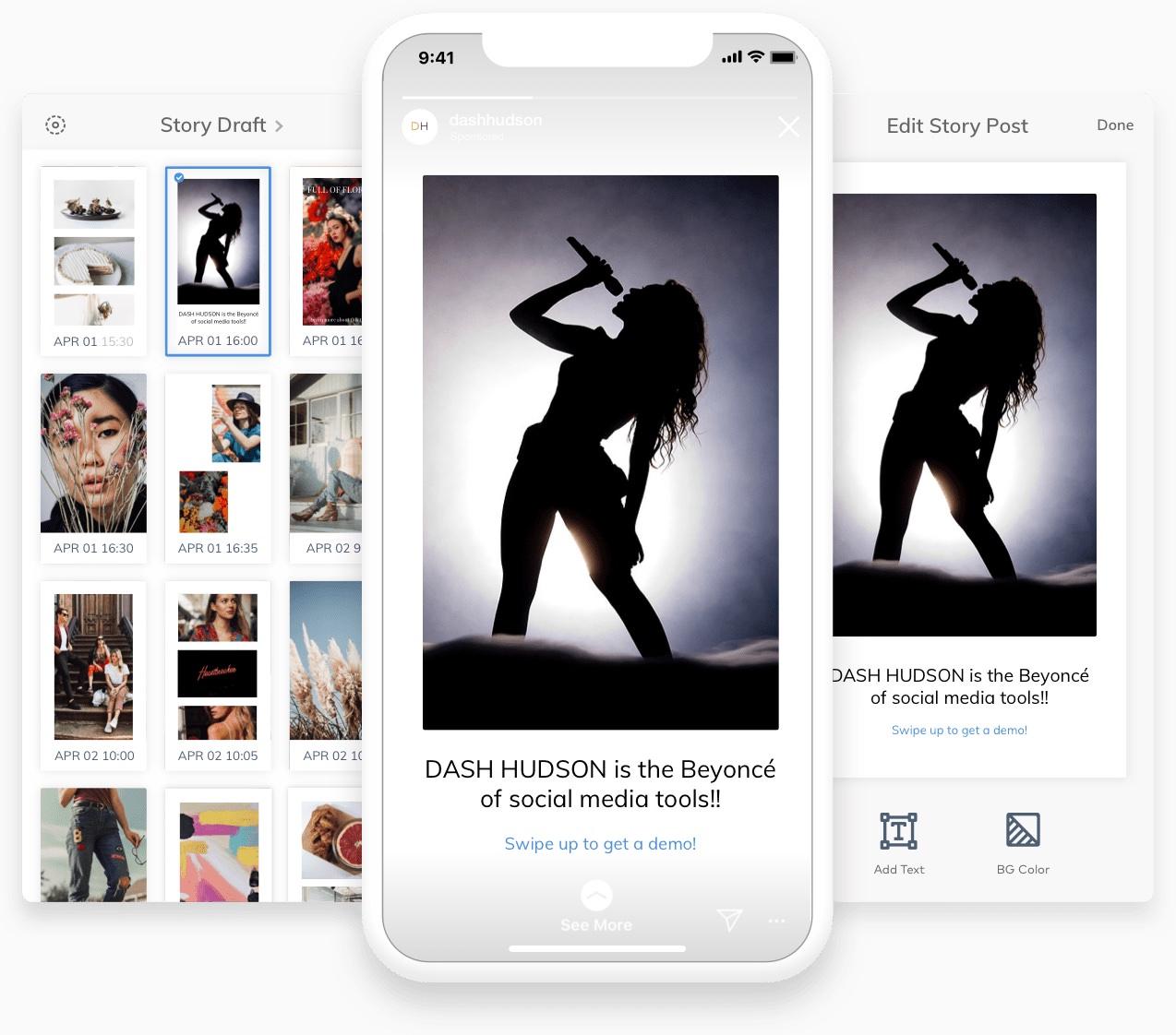 Social media scheduling app Story Studio