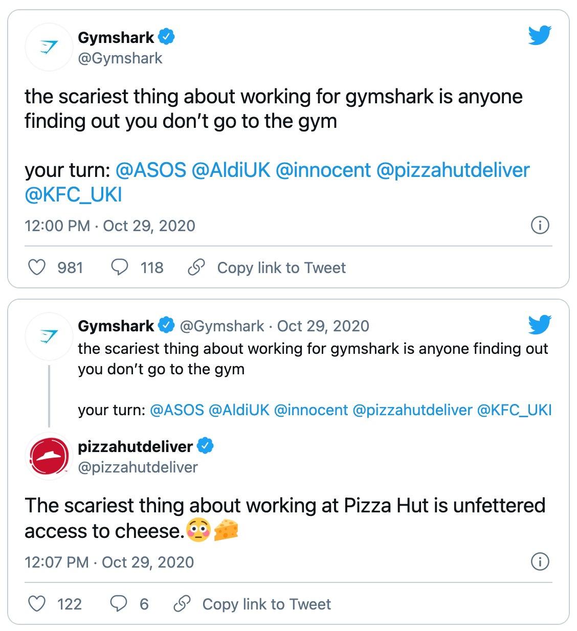 cpg-brands-social-media-gymshark-pizzahut