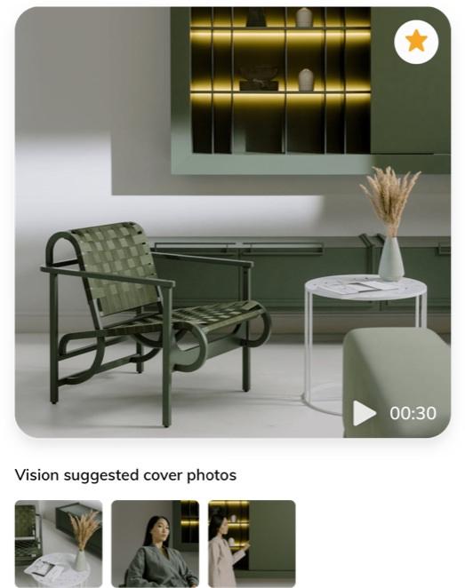 social media tools, screenshot of Dash Hudson vision for video