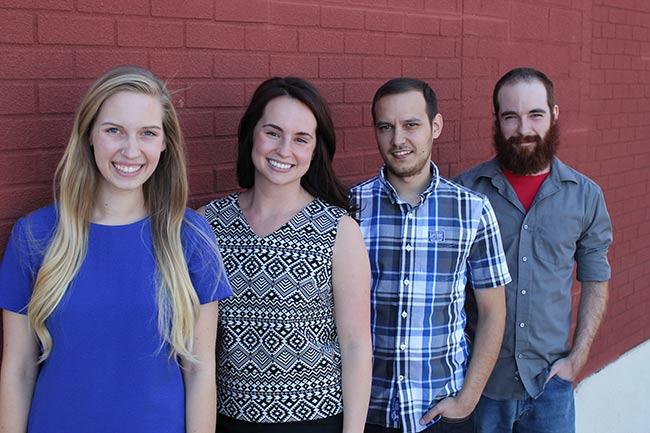 Maddy, Amanda, Christopher and Preston