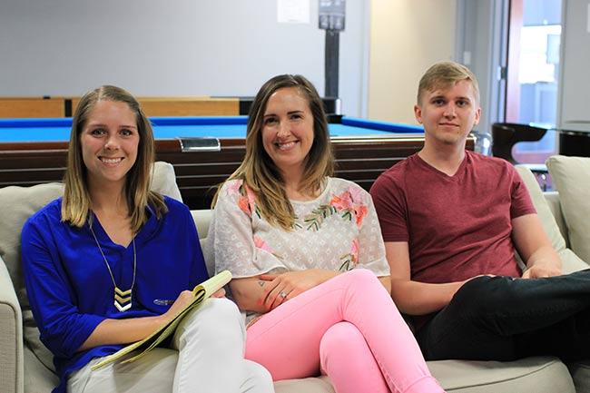 Katylee, Jeniffer and Matt