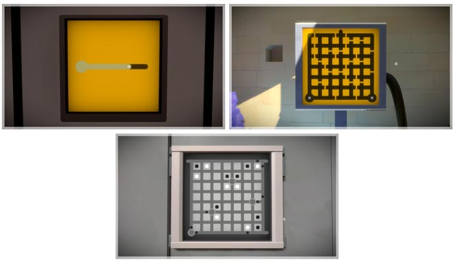 Puzzle progression of The Witness