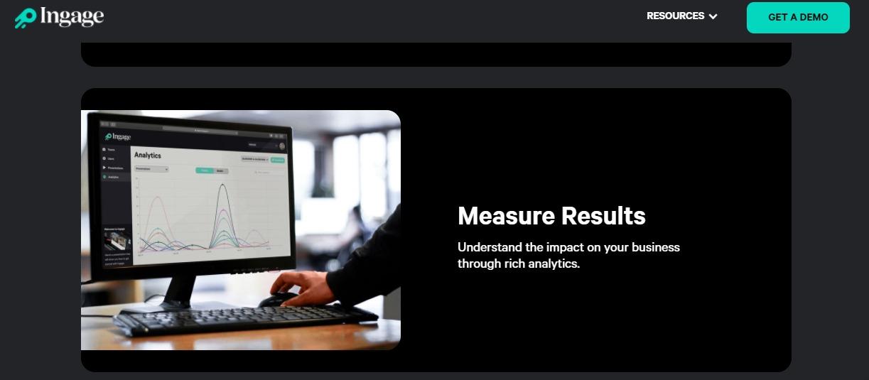 Ingage interactive content creation platform