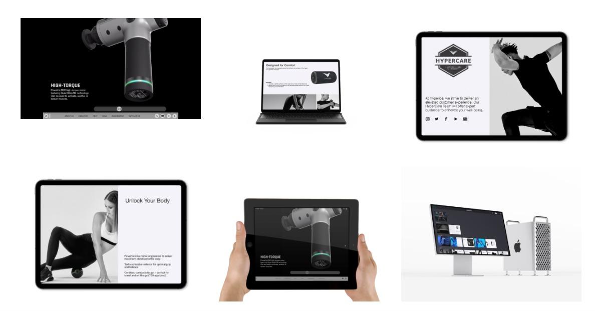 sales presentation content