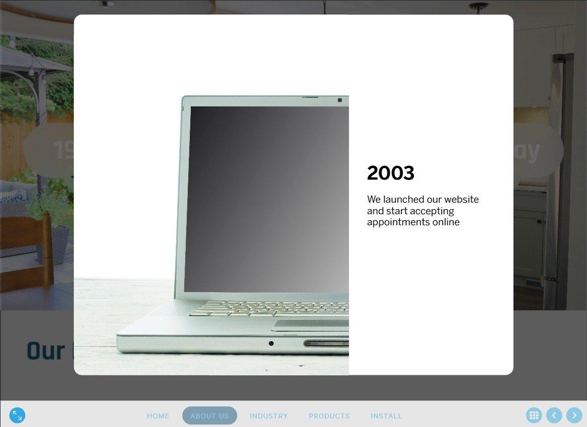 digital presentation tools company story
