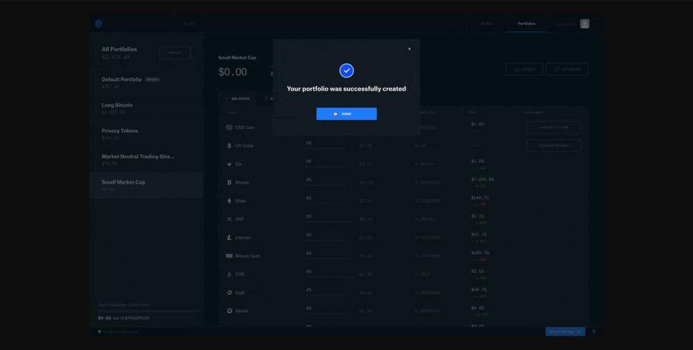 Create Coinbase Pro portfolio.PNG