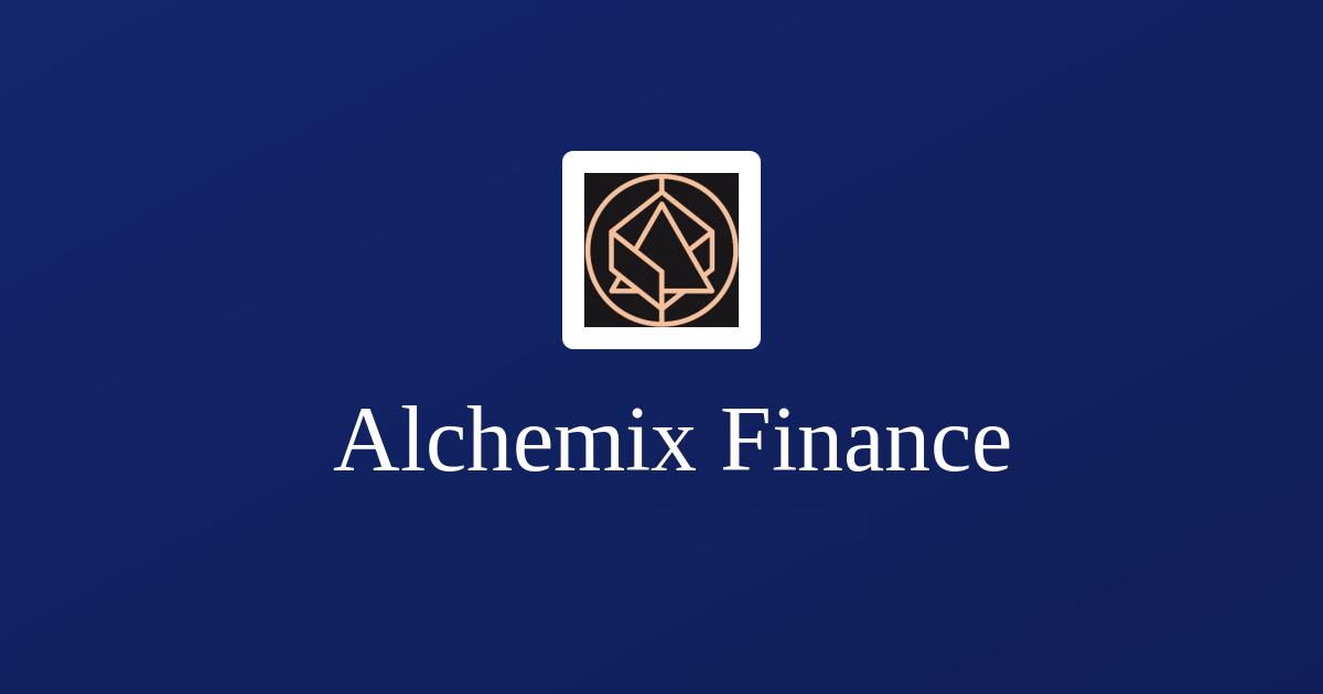 What Is Alchemix Finance?