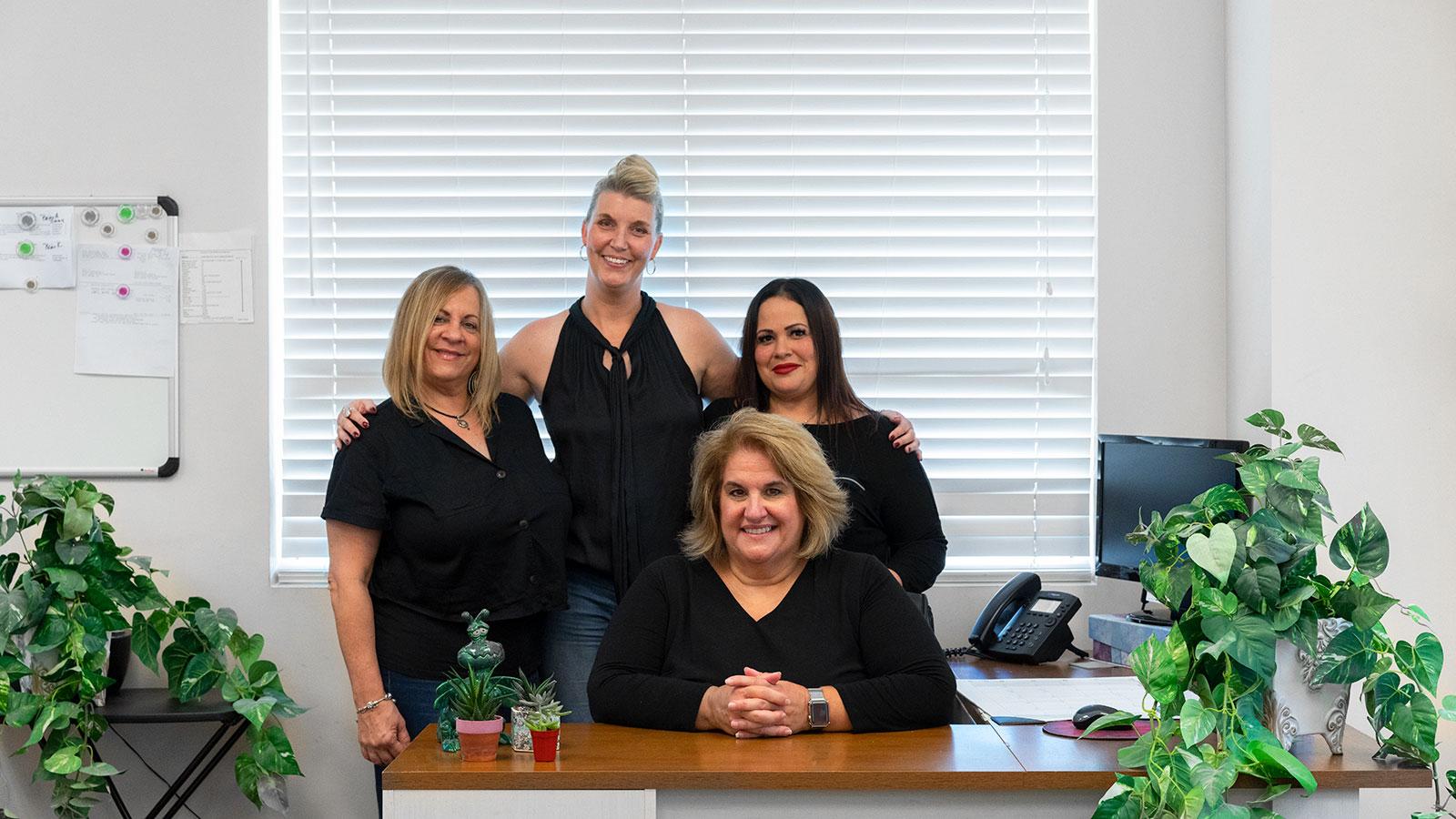 A photo of Nick Felicione office staff