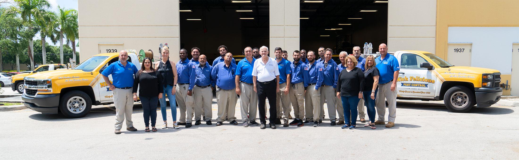 a photo of the Nick Felicione team