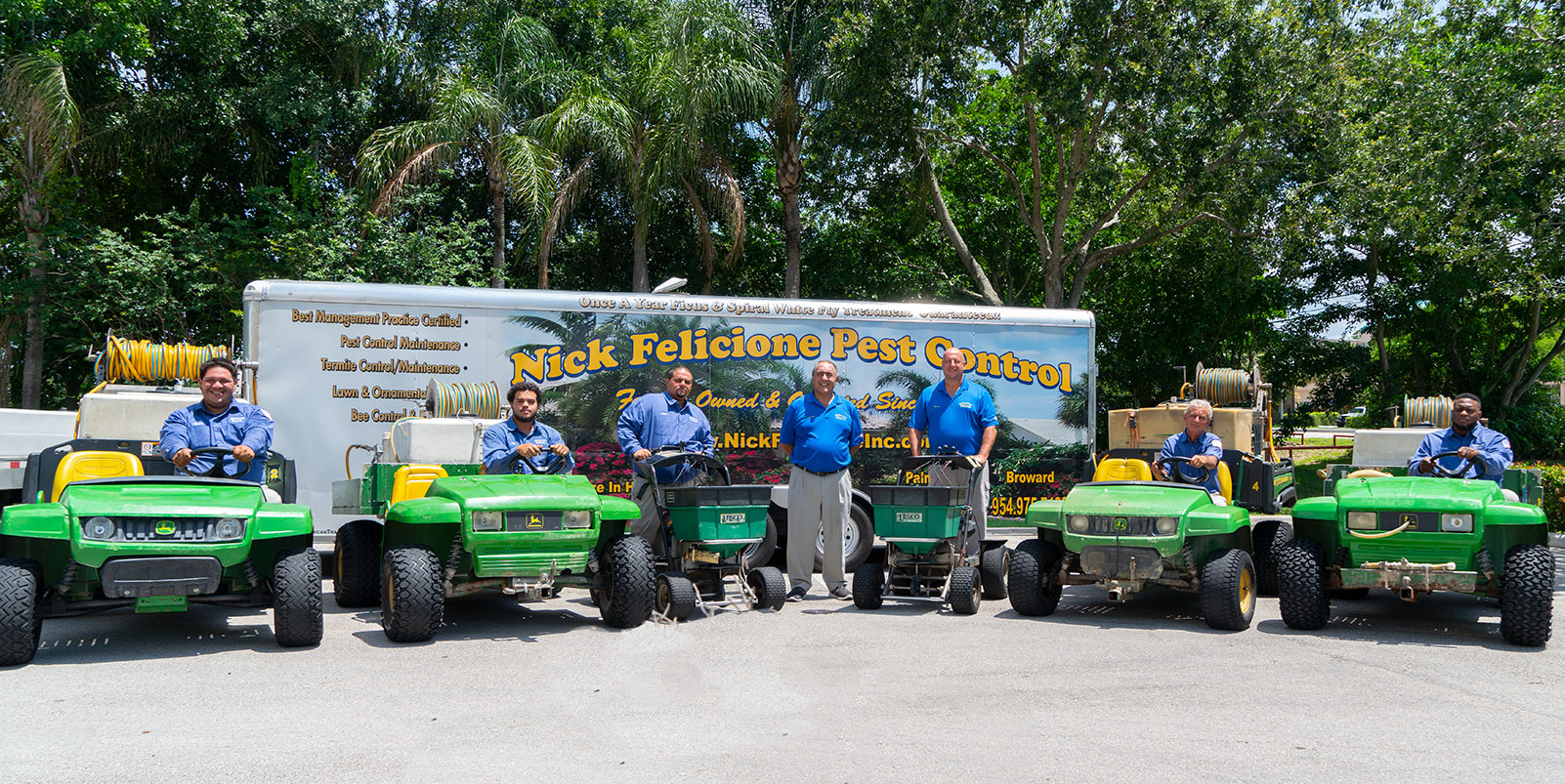 a picture of Nick Felicione commercial lawn team