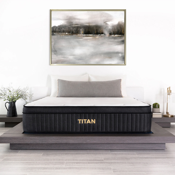 Brooklyn Bedding Titan Hybrid Brunswick