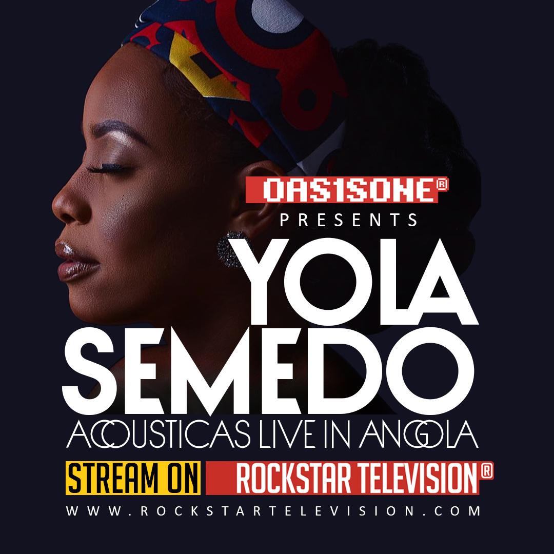 OAS1SONE presents Yola Semedo live from Angola on RockstarTV