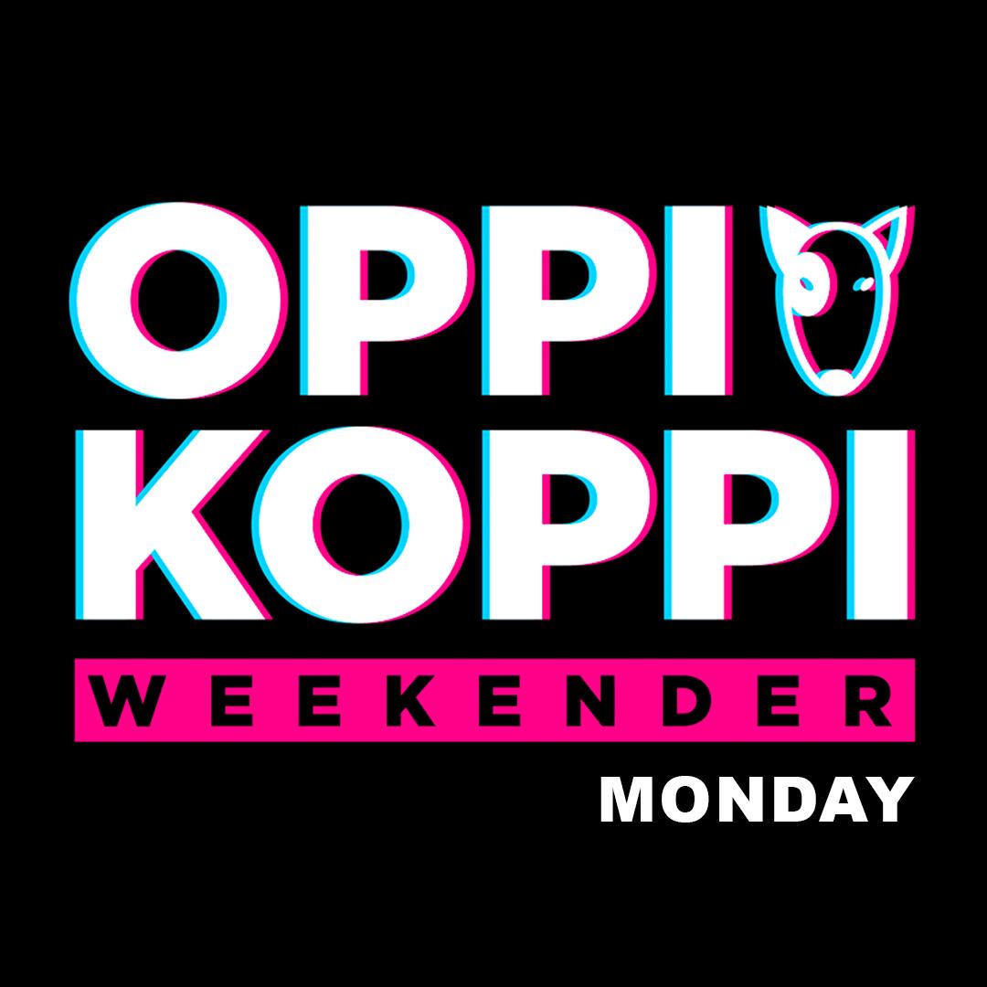 Oppi Koppi Weekender Monday