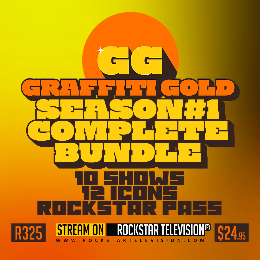 GRAFFITI GOLD SEASON #1 COMPLETE BUNDLE ROCKSTAR PASS