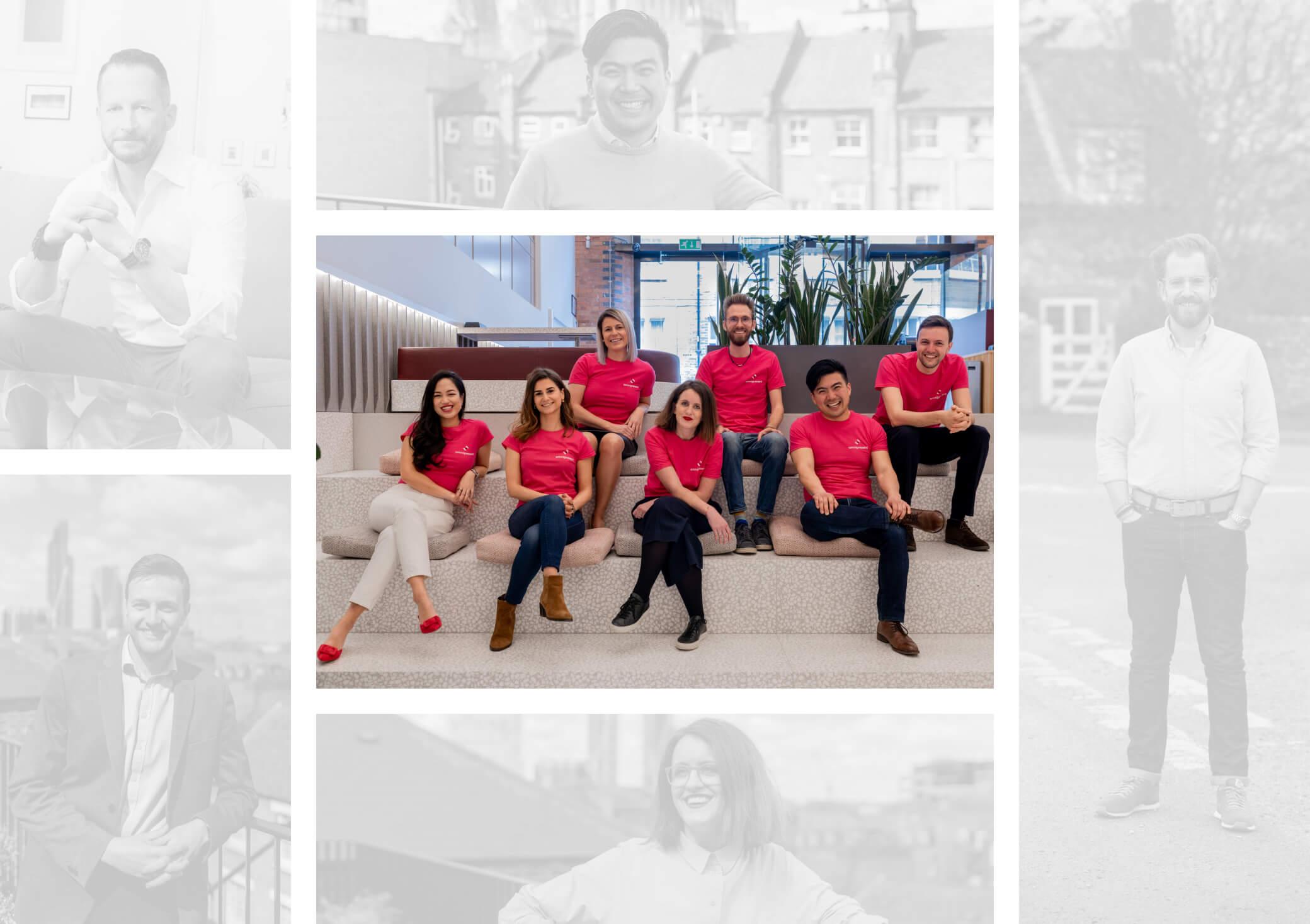 Omnipresent team collage