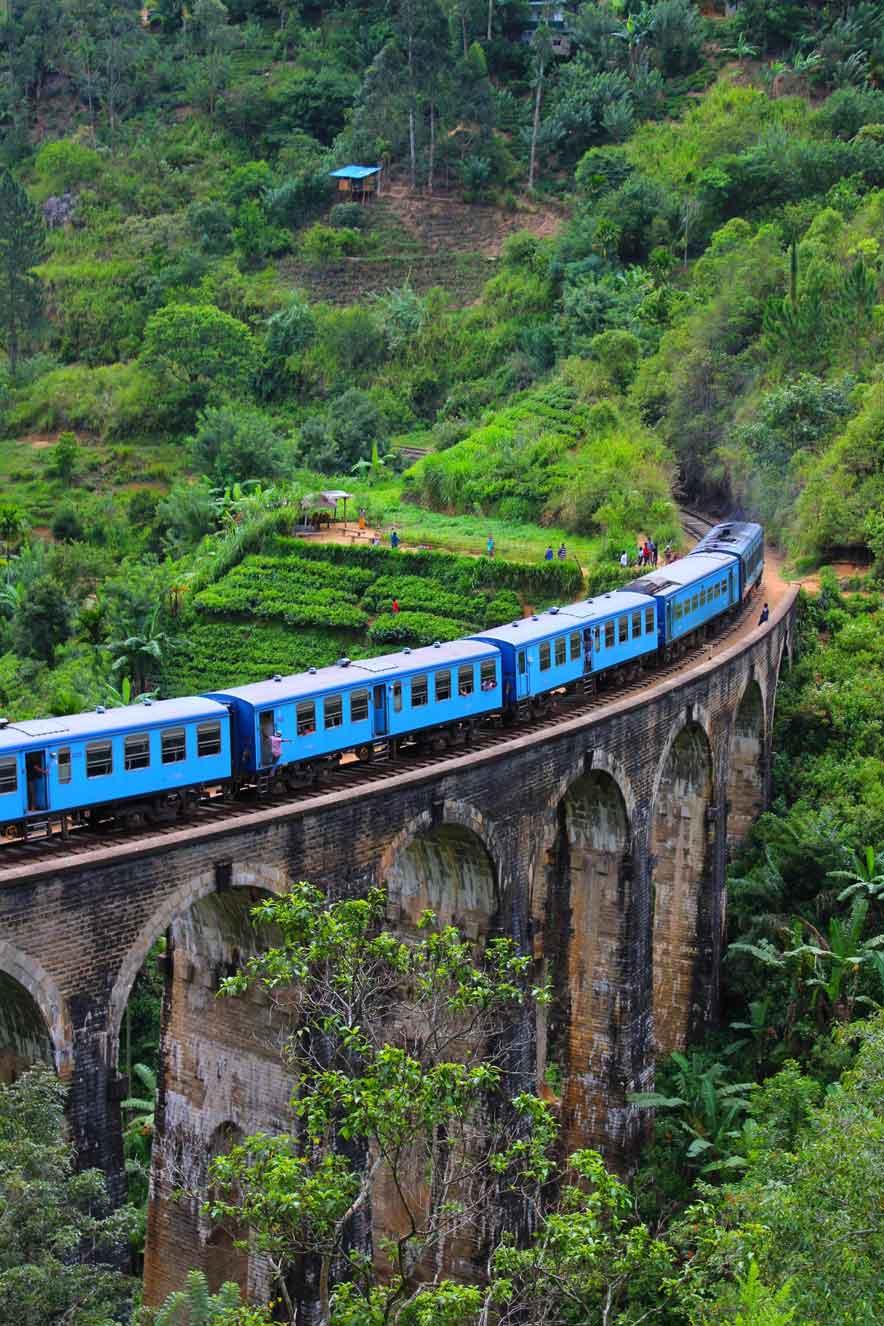 Nine Arch Bridge Road, Sri Lanka