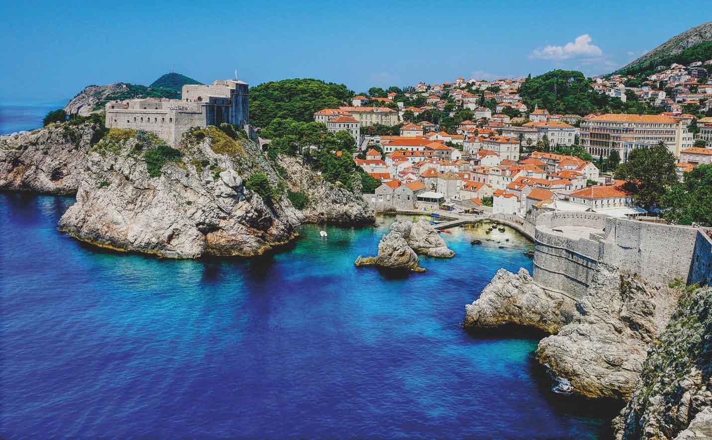 Dubrovnik west harbor