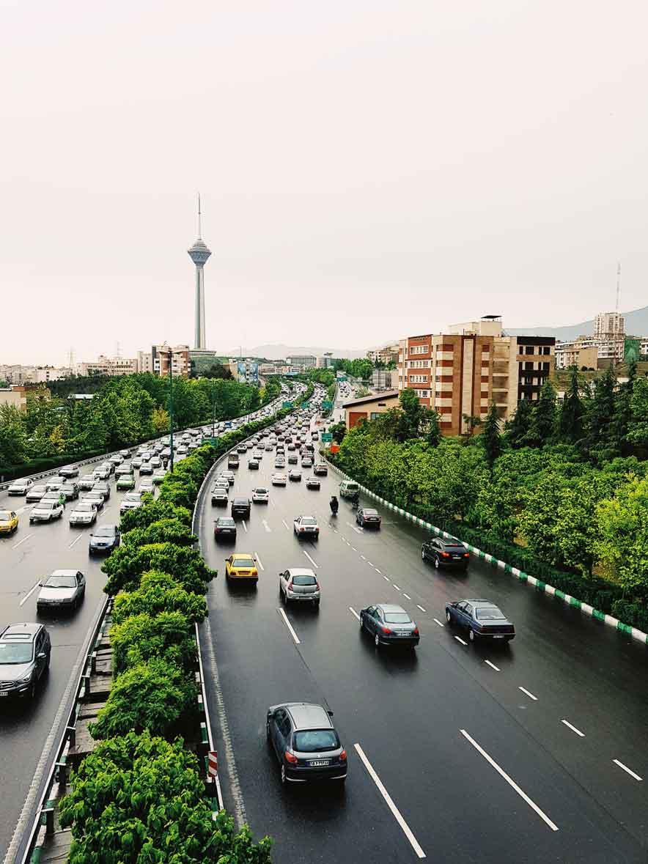 Hakim Expressway, Tehran, Iran