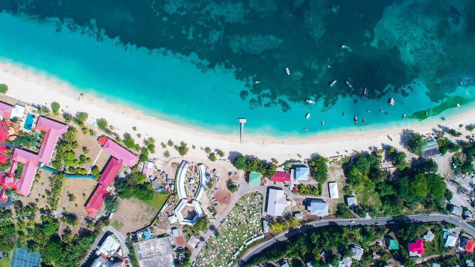 Grand Anse Beach   Grenada, Caribbean