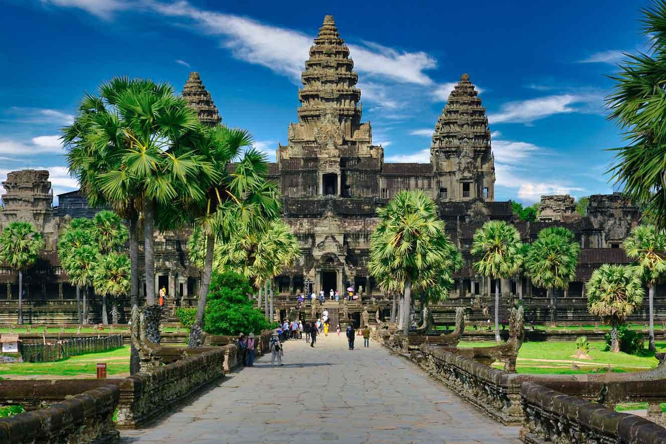 Angkor Wat, Agkor, Cambodia