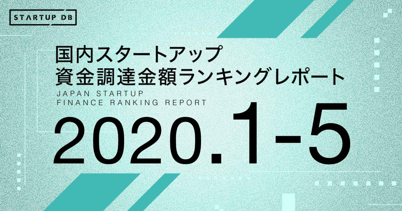 【STARTUP DB】調査結果 国内スタートアップ資金調達ランキング  LayerXが30億円の資金調達で10位にランクイン。6社が新しい顔ぶれ!