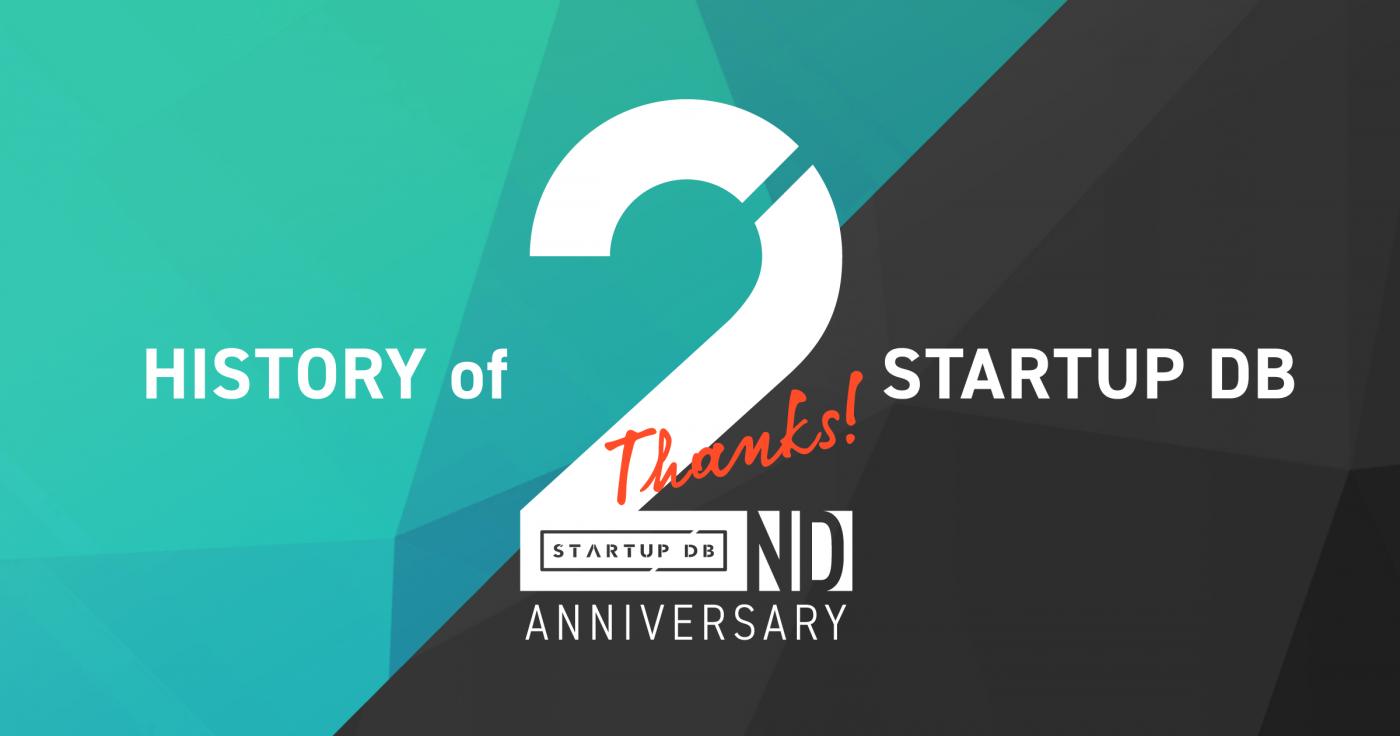 「STARTUP DB」2周年記念インフォグラフィック公開 サービス誕生から、これまでの軌跡