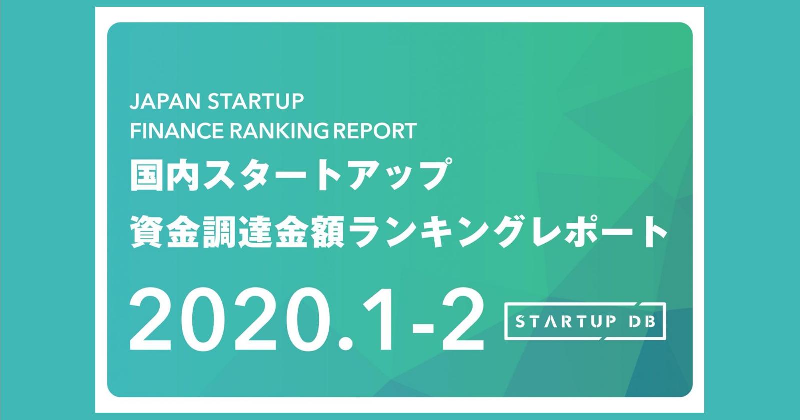 【STARTUP DB】調査結果 国内スタートアップ資金調達ランキング ベルフェイスのランクインにより50億円以上の資金調達を実施した企業が3社に